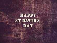 St. David's Day Greeting Card....