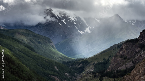 Altai Mountains Canvas Print