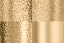 Gold Hammered Effect Backgroun...