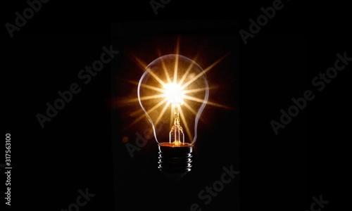 Photo Light bulb.