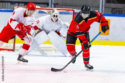 Photo Ice hockey players