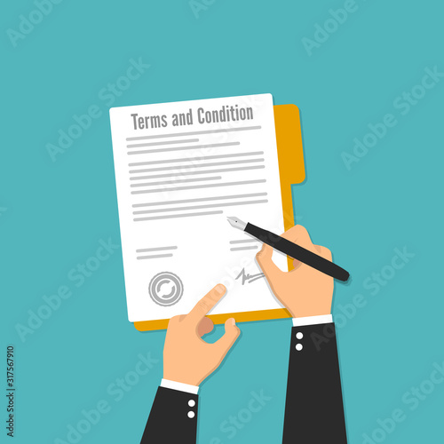 Fotomural terms and condition agreement contract