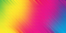 An Abstract Rainbow Colored Mo...