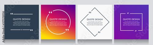 Obraz na płótnie Vector minimalist posters set