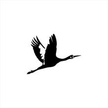 Stork Concept Illustration Vector Template.