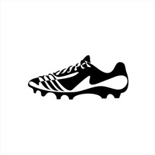 Soccer Shoe Flat Icon. Continu...