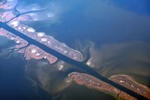 Delta Of Volga River Water Joi...