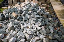 Piles Of Cobblestones At The R...