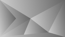 Polygon Triangle In Black And ...