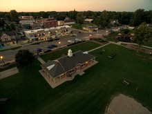 Aerial View Of Walter And Mary...
