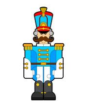 Hussar Soldier Retro. Guardsma...