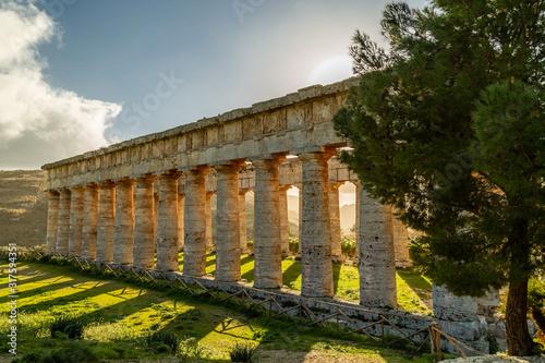 Fototapeta Temple of Segesta (Tempio di Segesta), Sicily, Italy