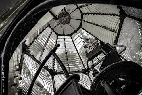 Interior of a Fresnel Lens Canvas-taulu