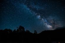 Night Sky In Albanian Nature N...