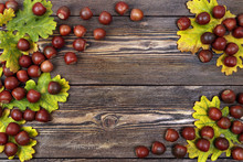 Flat Lay Autumn Composition Wi...