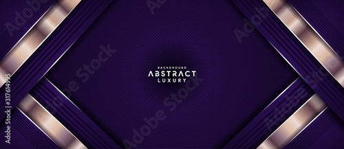 Fotomural Luxury purple overlay layers background