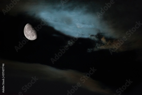Fotografiet luna