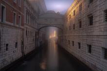 Bridge Of Sighs - Venice - Fog...