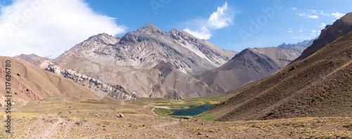 Photo Laguna Horcones, Parc provincial de l'Aconcagua, Argentine