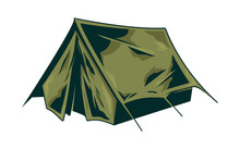 Classic Vintage Camping Tent For Trip