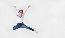 Funny Little Asian Child Girl ...