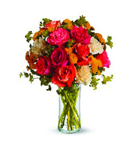 Many Colorful Bouquet Of Flowe...