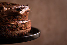 Chocolate Layer Cake With Fros...