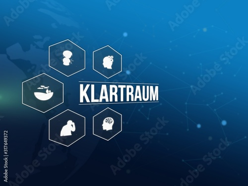Klartraum Canvas Print