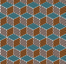 Seamless Pattern With Colored ...