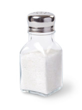 Salt Shaker Isolated On White ...