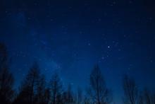 戦場ヶ原の星空