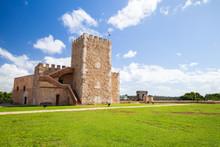 Ozama Castle In Santo Domingo,...