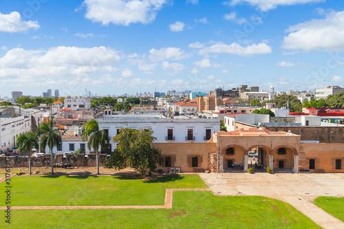 Zona Colonial, cityscape of historical Santo Domingo #317679134