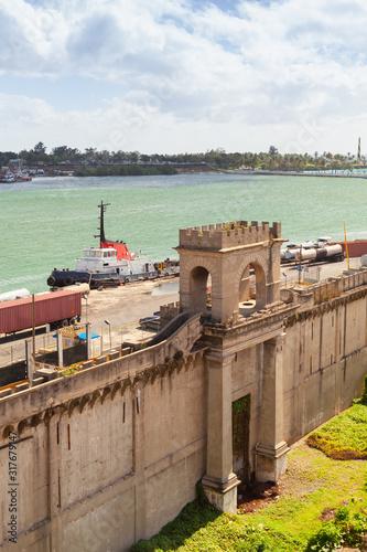 Vertical landscape of Santo Domingo #317679147