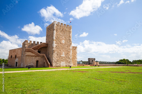 Ozama castle in Santo Domingo, Dominican Republic #317679168