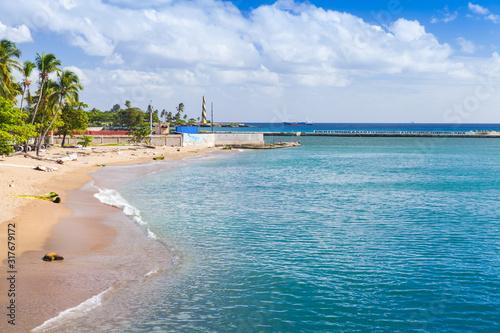 Coastal landscape of Santo Domingo #317679172