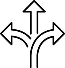 Flexibility Icon, Vector Illus...