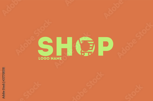 internet, online, store, element, web, retail, logotype, bag, sign, buy, symbol, Canvas Print