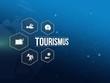Leinwandbild Motiv Tourismus