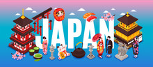 Japan Travel Text Composition