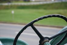 Detail Of The Steering Wheel O...