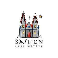 Gotic Castle Logo, Sketch For ...