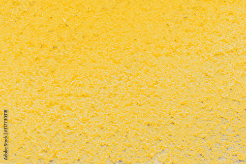 Stampa su Tela Texture crépi jaune