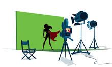 Superheroine Movie Set