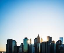 New York City Skyline In The M...