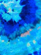 Tie Dye Spiral Background.