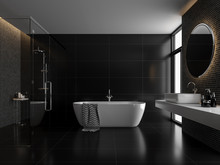 Modern Luxury Black Bathroom 3...