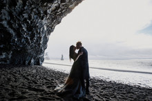 Young Beautiful Couple Bride A...