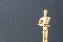 Determination Gesture Mannequin Doll Background