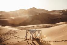 Photo Scenary In Sahara Desert...